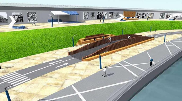 Концепция благоустройства пешеходной набережной в Павшинской пойме