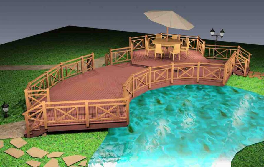 Терраса над водой