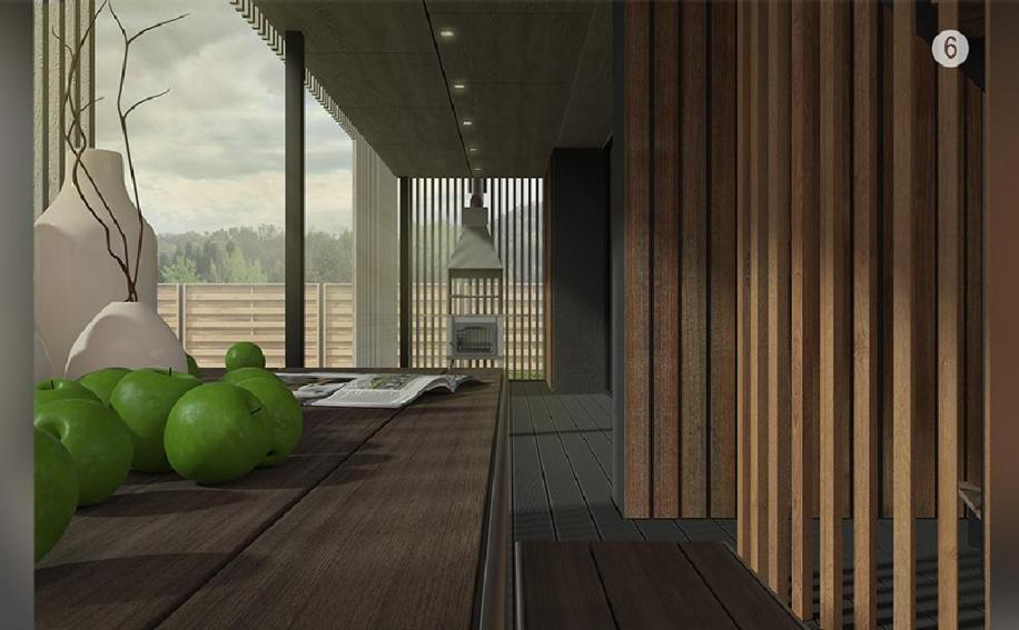 """Проект мультифункциональной двухуровневой террасы с использованием доски ДПК Terradeck Eco """"КИНОтерраса"""