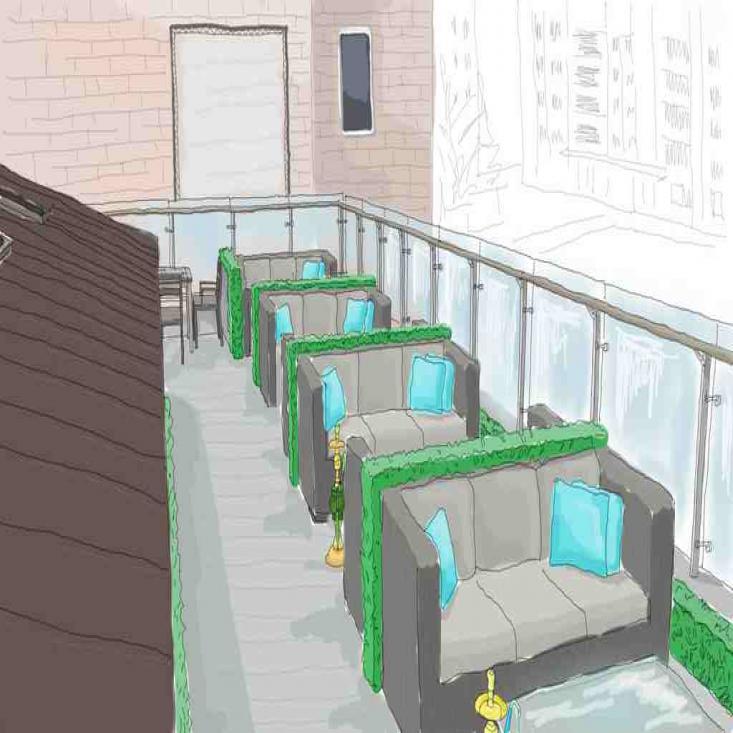 Летняя терраса Lounge-бара «Мята»