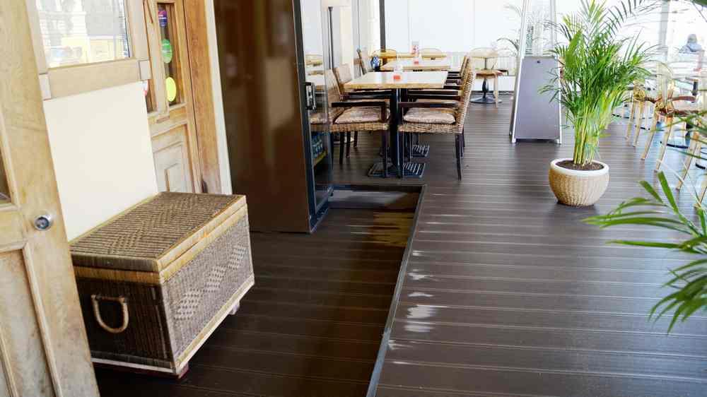 Новая терраса ресторана Курвуазье